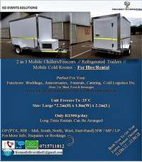 Image of 2 in 1 Mobile Chillers/Freezer