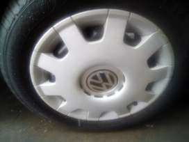 Volkswagen Polo rims and hupcaps.