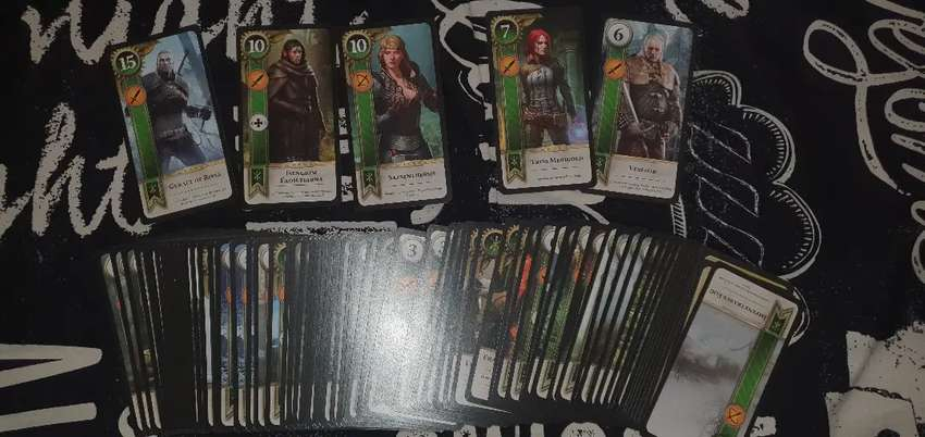 The Witcher 3 Gwent Cards 0