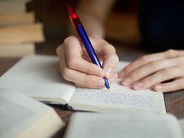Пишу конспектыт и рефераты от руки