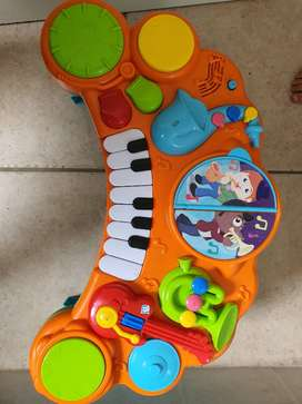 Musical piano for toddler