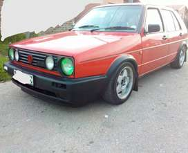 Golf 2 GTI 2.0L 8valve/sell or swops welcome.