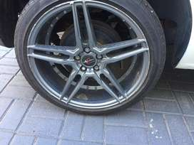 4 17inch rims with tyres