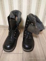 Ботинки кожа 45 размер полномерный