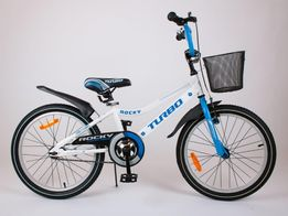 BMX 20 cali ROCKY rower niebieski dla chłopca POLSKI