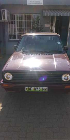 VW Golf 1, still in a great condition