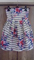 Suknia sukienka New Look r. 36 kwiaty