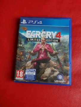 Farcry 4: Limited Edition- PS4 Game