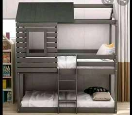 Tri bunks and Tripple bunk with staircases