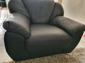 Genuine Leather Modern Lounge Suite