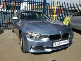 2013 BMW 316i Automatic with a sunroof