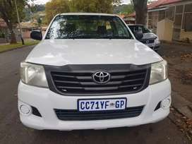 2012 Toyota Hilux 2.5 Highrider with leather seats
