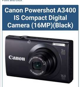 Cannon Powershot A3400 IS camera for sale
