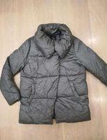 Куртка зефирка, оверсайз, одеяло, пуховик теплая, р.44-46, S -М