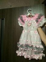 Продам платье на утренник,для девочки от 2 до 4 лет
