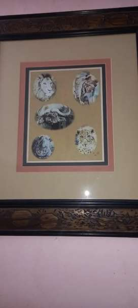 Big 5 picture with frame