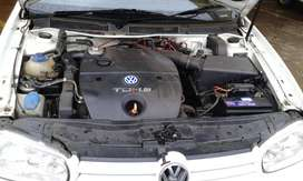 used golf tdi 2002model