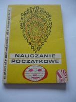 Więckowski- Nauczanie początkowe. Materiały metodyczne dla nauczycieli