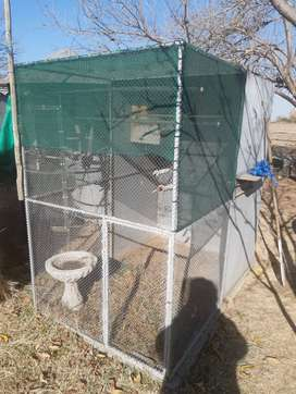 Two cages ideal for birds. R2200 each