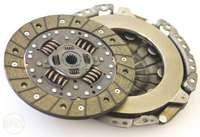 Image of Clutch, Pressure Plates (Reconditioned) and Brake Shoes