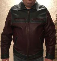 Куртка кожаная wrangler (Вранглер)