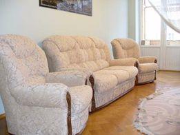 Перетяжка мягкой мебели + ремонт