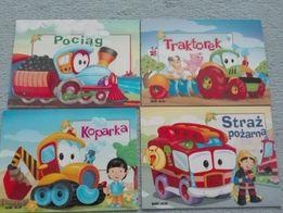 4 książeczki dla dzieci
