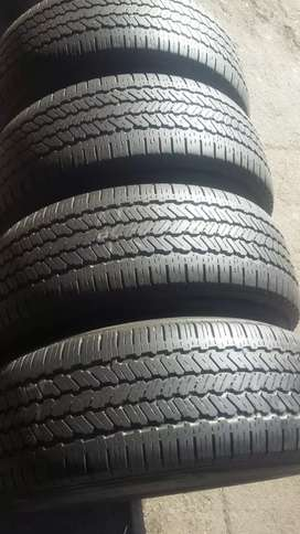 4× 265/70/16 fourGRABBER tyres for sale