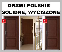 Wewnątrzklatkowe drzwi, zewnętrzne-WEJŚCIOWE. Antywłamaniowe