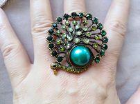 Винтажный перстень, кольцо