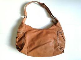 WITTCHEN duża torba torebka damska brązowa miękka skóra naturalna