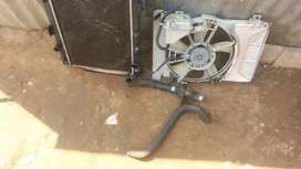Toyota yaris Radiotor complete for sale