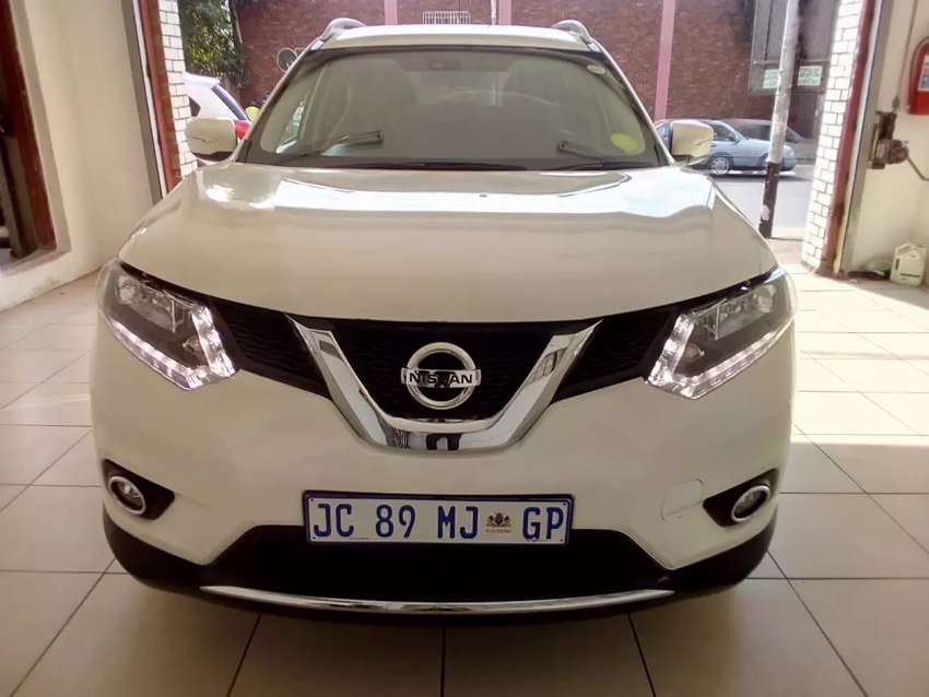 2015 Nissan X-Trail automatic 4x4 full with motor plan 0