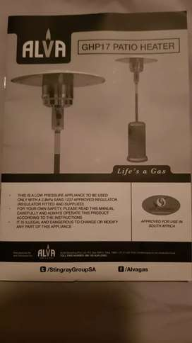 Selling Brand new Alpha Patio Heater
