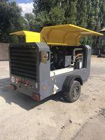Компрессор дизельный передвижной(3-25 м3/мин, 4-25 бар)