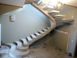 Изготовление Лестниц из Бетона