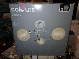 Lampa Spot Plafon COLOURS ONNES 3 X 25 W G9 Chrom Polecam