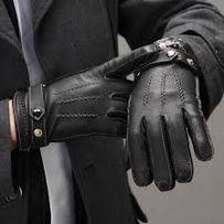 Перчатки кожаные H&M утеплены