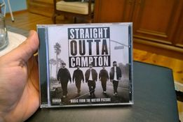 Straight Outta Compton - Miusic from the motion picture cd NWA