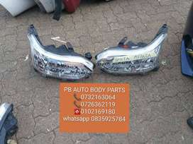 toyota avanza left and right headlight / head light