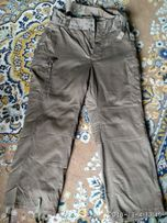 Штаны мужские защитного цвета на подтяжках