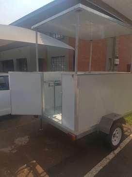 Top up roof mobile kitchen white colour