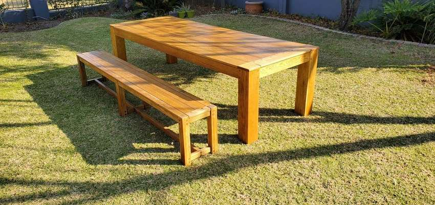 Patio Table & Bench