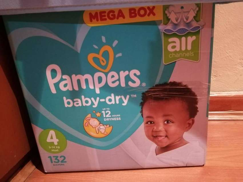 Pampers size 4 0