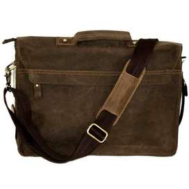 FINO 13'' VINTAGE GENUINE LEATHER SHOULDER BAG