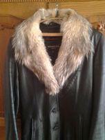 кожаный плащ кожаная куртка