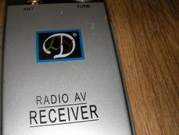 kamera noc dzień kolorowa camera wireless radio av receiver