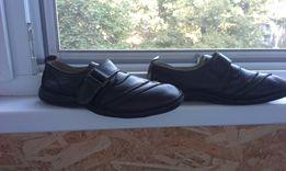 Кожаные туфли (мокасины) на мальчика