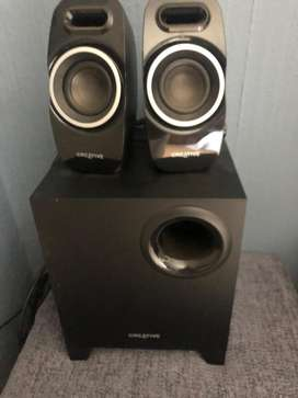 Creative A250 speaker system as new