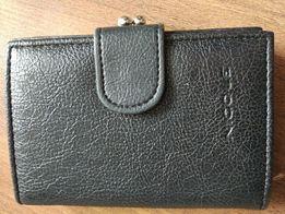 NOWA Damska portmonetka czarna / portfel damski